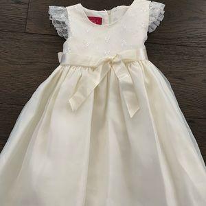 Other - Girls Ivory Dress